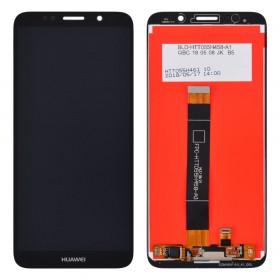 Дисплей Huawei Y5/Y5 Prime (DRA-L21/DRA-L22) (2018)/Honor 7A (DUA-L22) с тачскрином в сборе, без рамки, copy,  цвет black