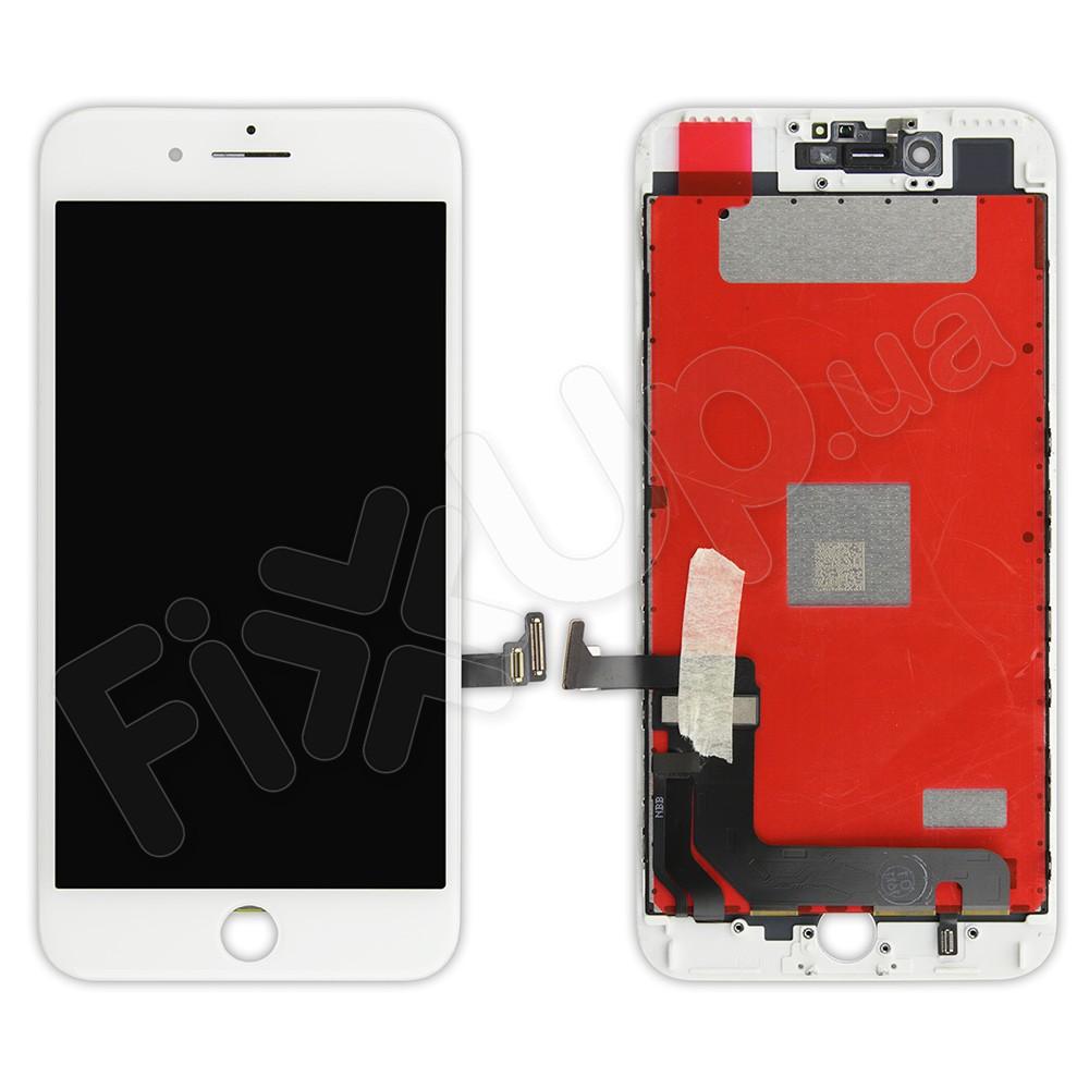 Дисплей iPhone 7 Plus с тачскрином в сборе (цвет белый), оригинал PRC фото 1