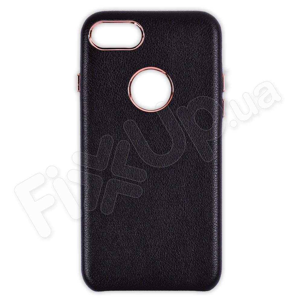 Чехол Leather Case iPhone 7/8, цвет черный фото 1