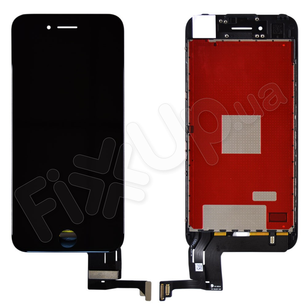 Дисплей iPhone 7 с тачскрином в сборе (цвет черный), оригинальная подсветка фото 1