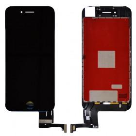 Дисплей iPhone 7 с тачскрином в сборе, оригинальная подсветка,  цвет черный