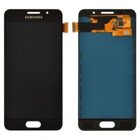 Дисплей Samsung Galaxy A3 A310F (2016) с тачскрином в сборе, без рамки, tft с регулировкой яркости,  цвет черный