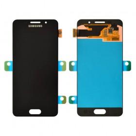Дисплей Samsung Galaxy A3 A310F (2016) с тачскрином в сборе, без рамки,  цвет черный, оригинал замененное стекло