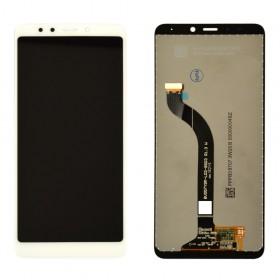 Дисплей для Xiaomi Redmi 5 с тачскрином в сборе, без рамки, оригинал,  цвет белый