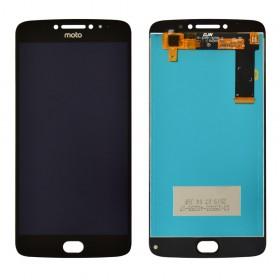 Дисплей для Motorola XT1770 Moto E4 Plus, XT1771, XT1773 с тачскрином в сборе, без рамки,  цвет черный