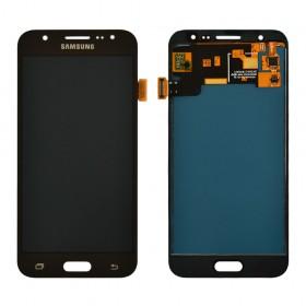 Дисплей Samsung Galaxy J5 J500F, J500M с тачскрином в сборе,  цвет черный, без рамки, tft с регулировкой яркости