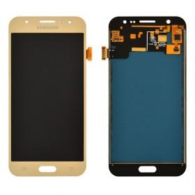 Дисплей Samsung Galaxy J5 J500F, J500M с тачскрином в сборе, без рамки,  цвет gold, prc tft с регулировкой