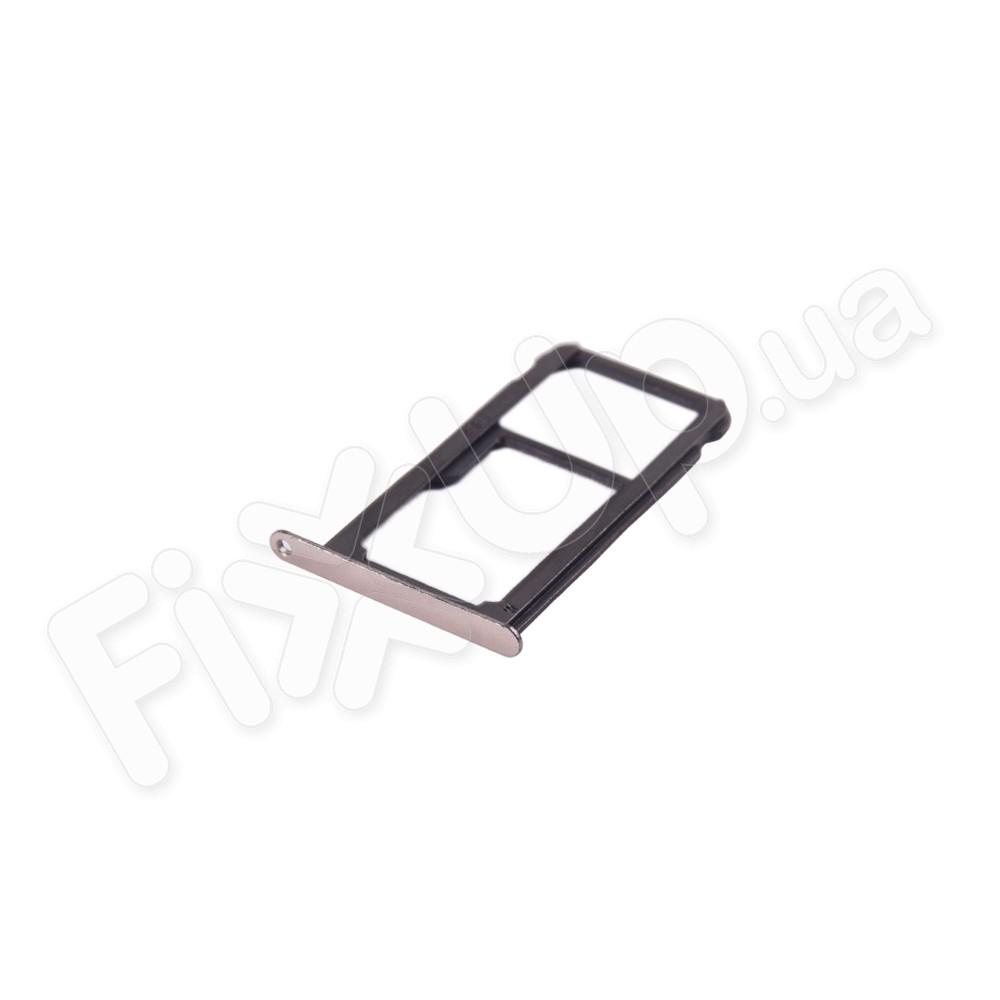 Держатель сим карты Huawei P10 Lite, цвет золотой фото 1