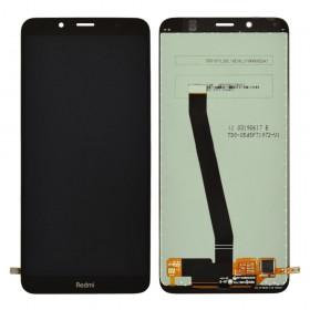 Дисплей для Xiaomi Redmi 7A с тачскрином в сборе, копия высокого качества,  цвет черный, без рамки