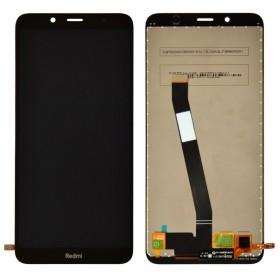 Дисплей для Xiaomi Redmi 7A с тачскрином в сборе, без рамки, копия,  цвет черный
