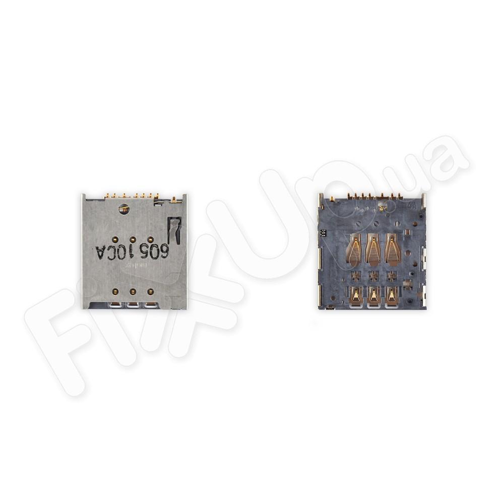 Держатель для сим карты Meizu MX4 Pro, MX3, MX4, M460, M461, M462 фото 1