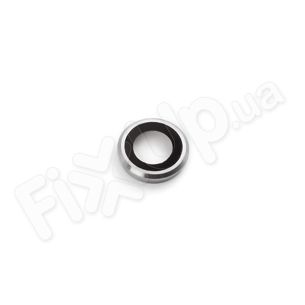 Стекло для камеры iPhone 6S (4.7), цвет серебро фото 1