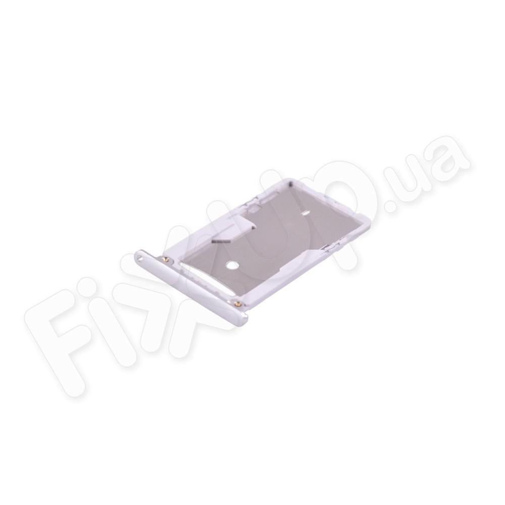 Держатель сим карты Xiaomi Redmi Note 3 Pro, цвет белый фото 1