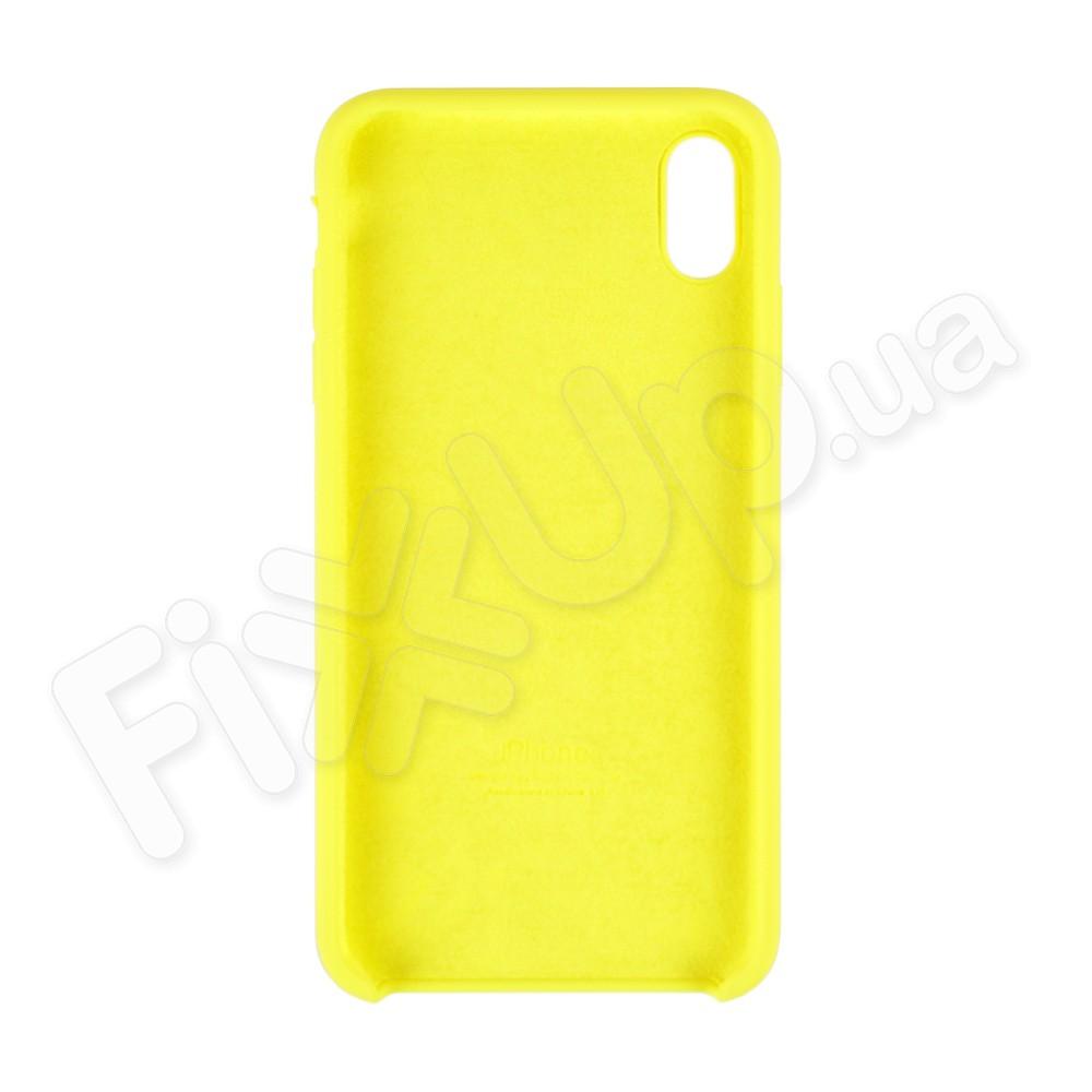 Силиконовый чехол для iPhone Xs Max (6.5), цвет lemonade фото 1
