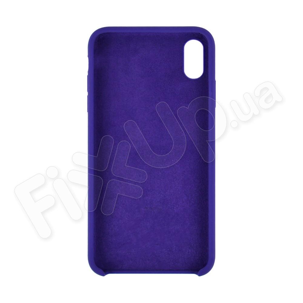 Силиконовый чехол для iPhone Xs Max (6.5), цвет violet фото 1