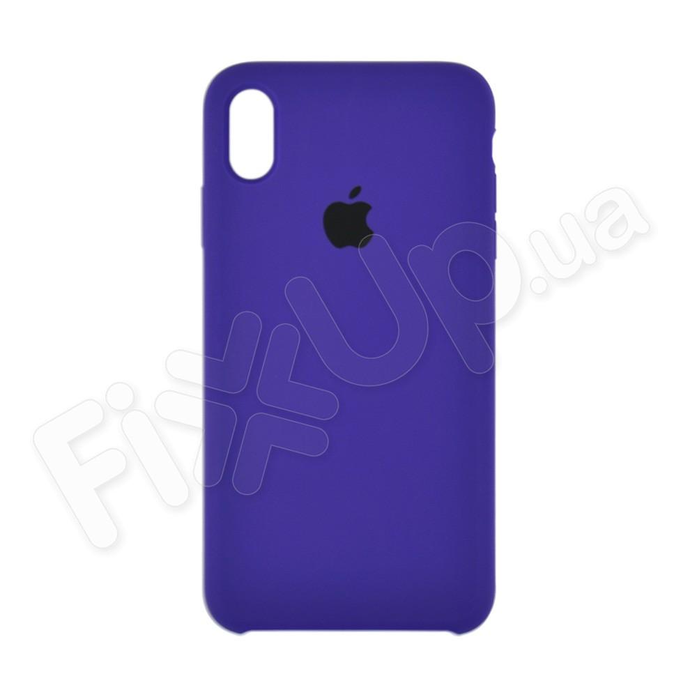 Силиконовый чехол для iPhone Xs Max (6.5), цвет violet фото 2
