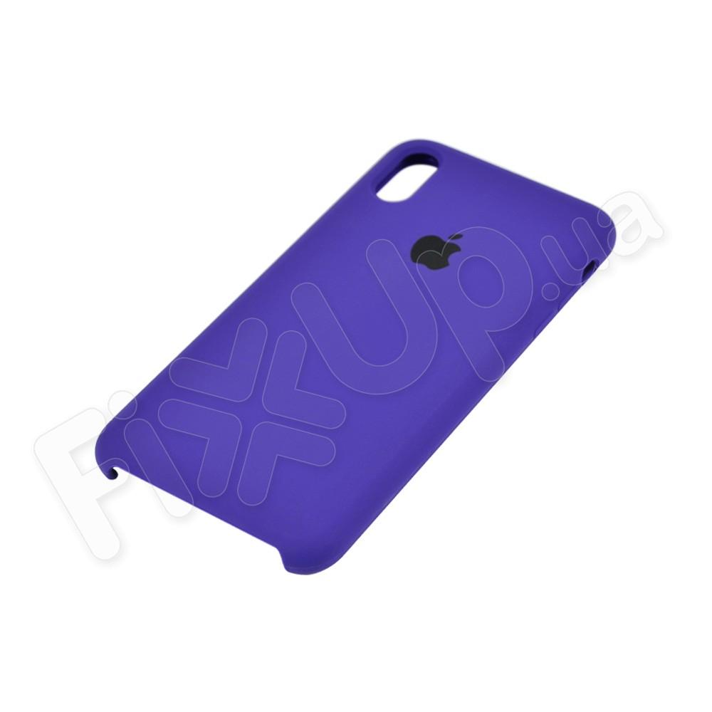 Силиконовый чехол для iPhone Xs Max (6.5), цвет violet фото 3