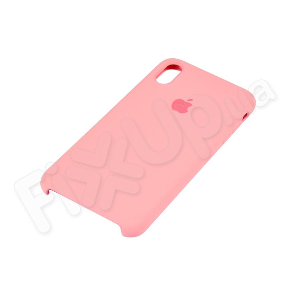 Силиконовый чехол для iPhone Xs Max (6.5), цвет розовый фото 3