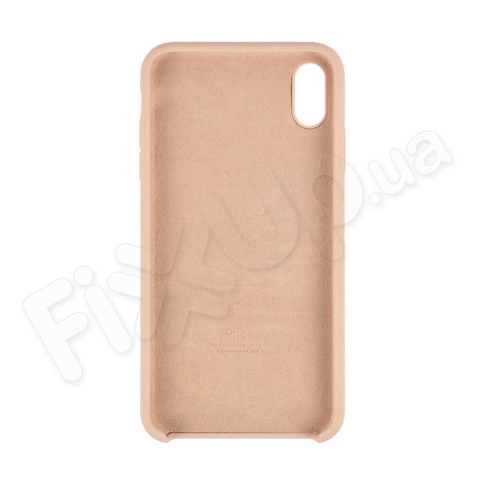 Силиконовый чехол для iPhone Xs Max (6.5), цвет pink sand фото 1