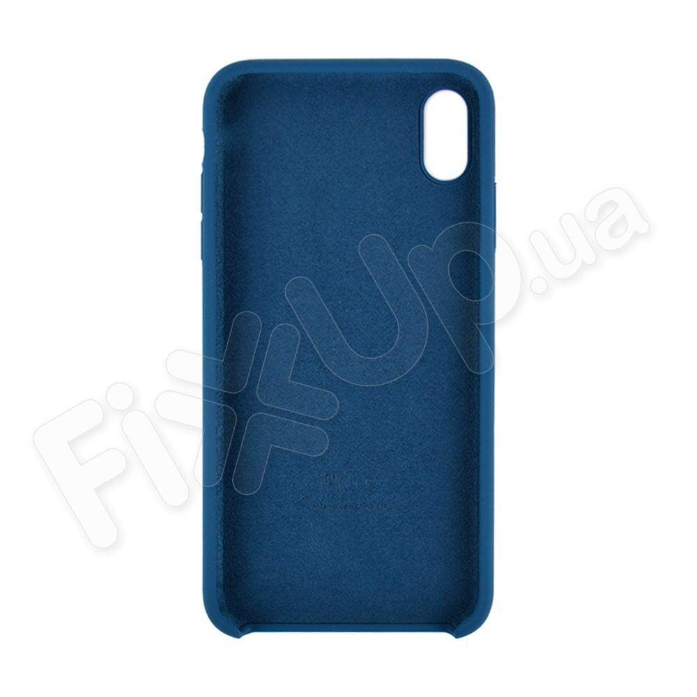 Силиконовый чехол для iPhone Xs Max (6.5), цвет ocean blue фото 1