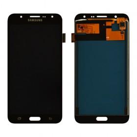 Дисплей Samsung J700H, J700F, J700M, DS Galaxy J7 (2015) с тачскрином в сборе, без рамки,  цвет black, prc tft с регулировкой