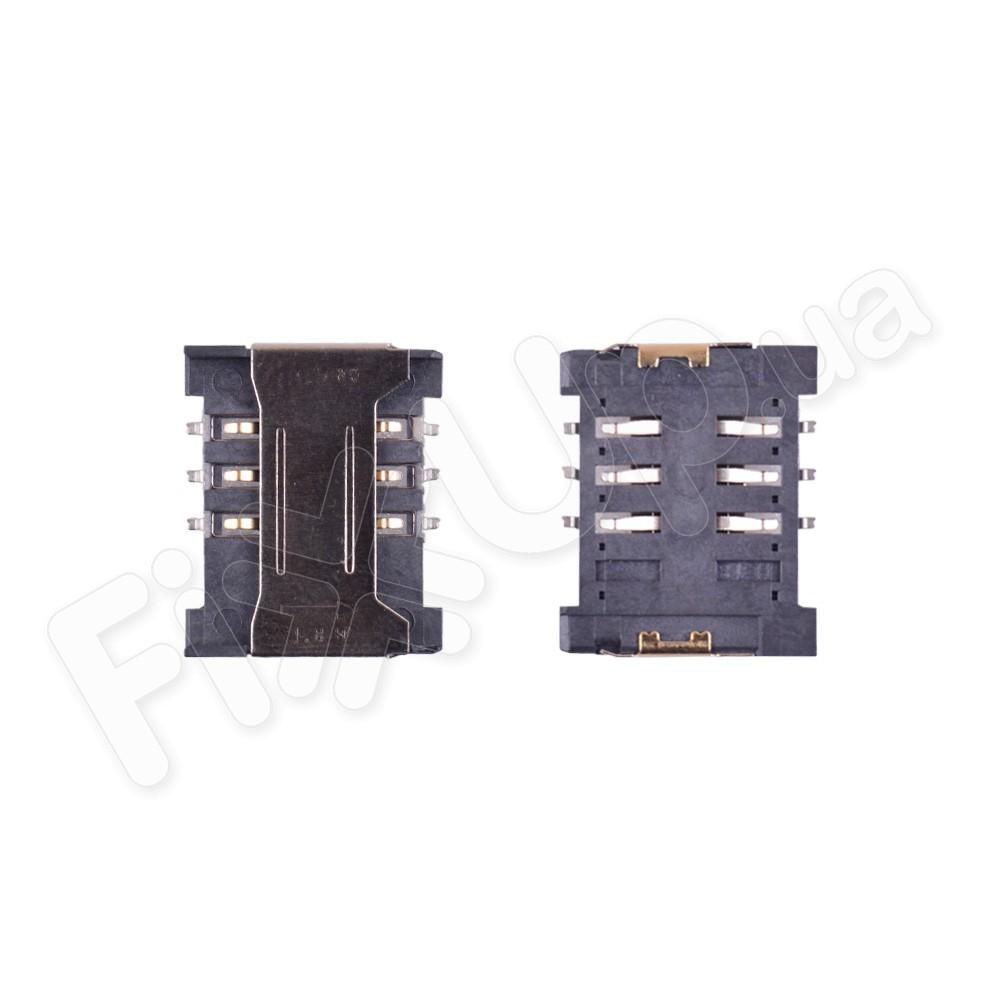 Разъем сим карты для Lenovo S890, A319, A398+, A628+ фото 1