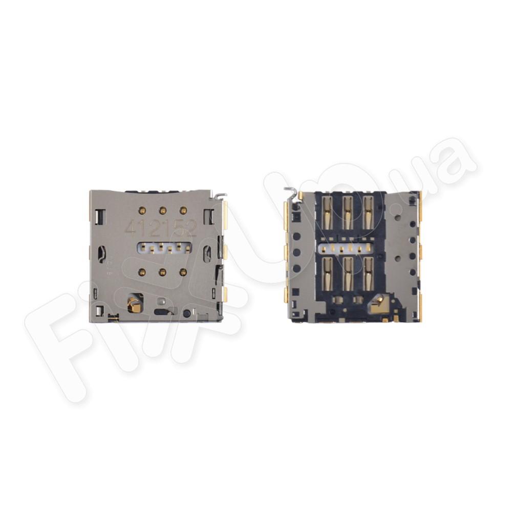 Разъем карты Huawei P7, Mate 7, G7, Honor 5X, P8 Lite micro-sim фото 1