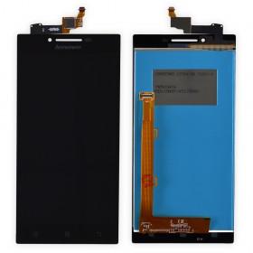 Дисплей Lenovo P70 с тачскрином в сборе, без рамки, копия,  цвет черный