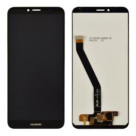 Дисплей для Huawei Honor 7A Pro/7C/Y6 2018 /Y6 Prime 2018 (AUM-L29/AUM-L41/ATU-L21/ATU-L31) с тачскрином в сборе, копия высокого качества, без рамки,  цвет черный