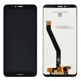 Дисплей для Huawei Honor 7A Pro/7C/Y6 2018 /Y6 Prime 2018 (AUM-L29/AUM-L41/ATU-L21/ATU-L31) с тачскрином в сборе, оригинал, без рамки,  цвет черный