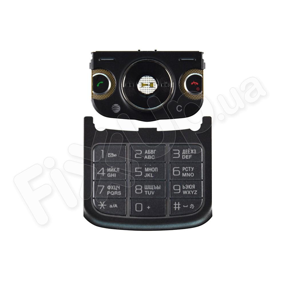 Клавиатура Sony Ericsson W760, цвет черно-серый фото 1