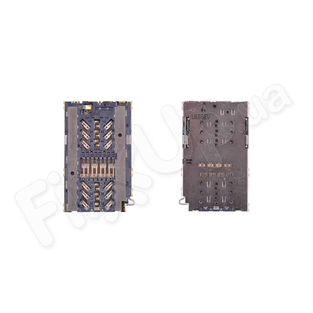 Разъем сим карты и карты памяти для Samsung A320F Galaxy A3 (2017)/A520F/G930F/G935F/G950F/G955F/N930/N950 фото 1