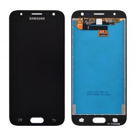 Дисплей Samsung J330 Galaxy J3 (2017) с тачскрином в сборе, без рамки,  цвет черный, оригинал замененное стекло