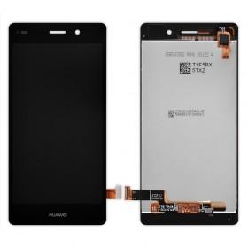 Дисплей Huawei P8 Lite (ALE L21/L20/L22) с тачскрином в сборе,  цвет черный, без рамки, копия