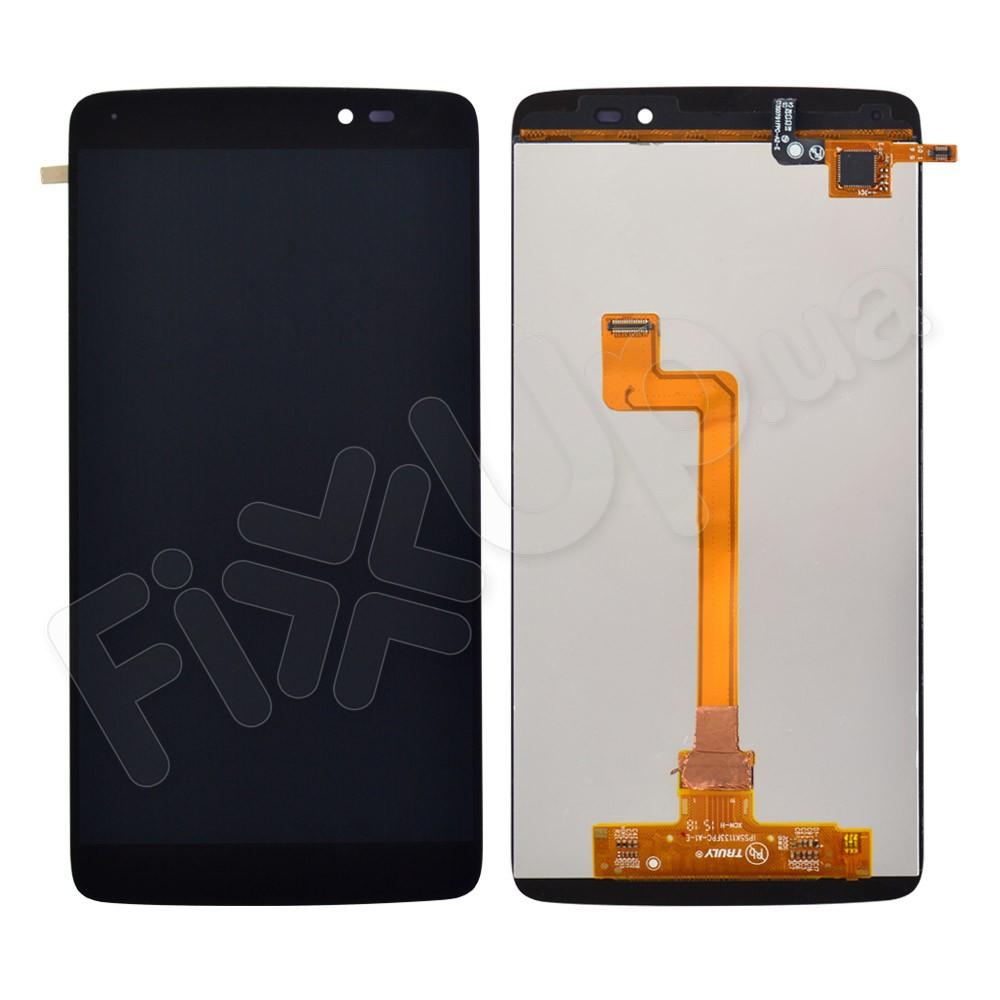 Дисплей Alcatel 6045 One Touch Idol 3 с тачскрином в сборе, цвет черный фото 1
