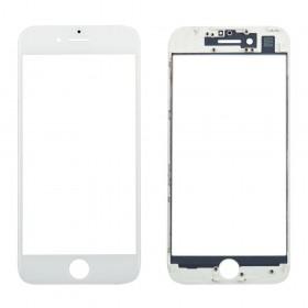 Стекло корпуса с рамкой и OCA для iPhone 7,  цвет white
