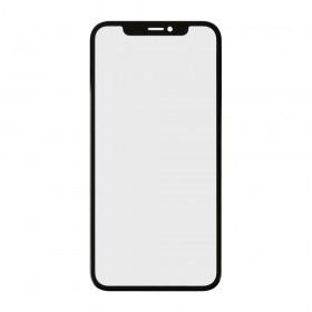 Стекло корпуса для iPhone XR (6.1) с OCA пленкой,  цвет black