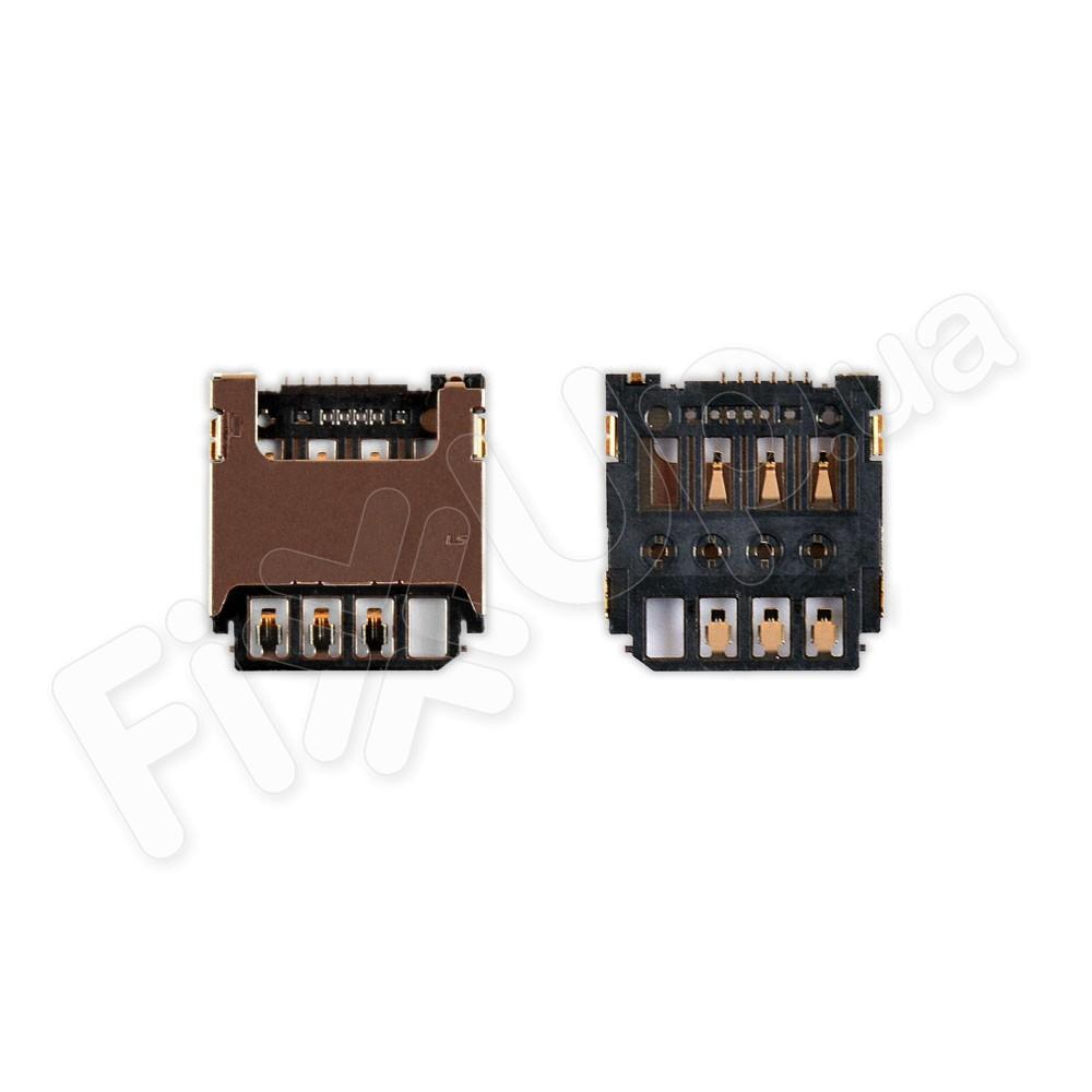 Слот для сим карты Samsung G130E, G313H, G313HN, G313HU, S7390 фото 1