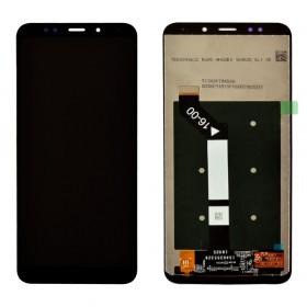 Дисплей для Xiaomi Redmi 5 Plus с таскрином в сборе, копия, без рамки,  цвет черный