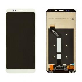 Дисплей для Xiaomi Redmi 5 Plus с таскрином в сборе,  цвет белый, копия высокого качества, без рамки