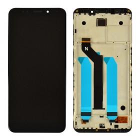 Дисплей для Xiaomi Redmi 5 Plus с таскрином в сборе,  цвет черный, копия высокого качества, с рамкой