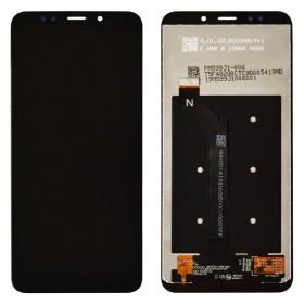 Дисплей для Xiaomi Redmi 5 Plus с таскрином в сборе,  цвет черный, оригинал, без рамки