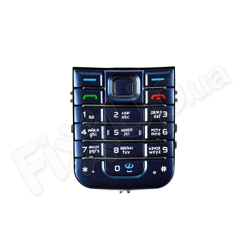 Клавиатура Nokia 6233, цвет синий фото 1
