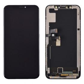 Дисплей для iPhone X (5.8) с тачскрином в сборе, с разбора, original,  цвет black