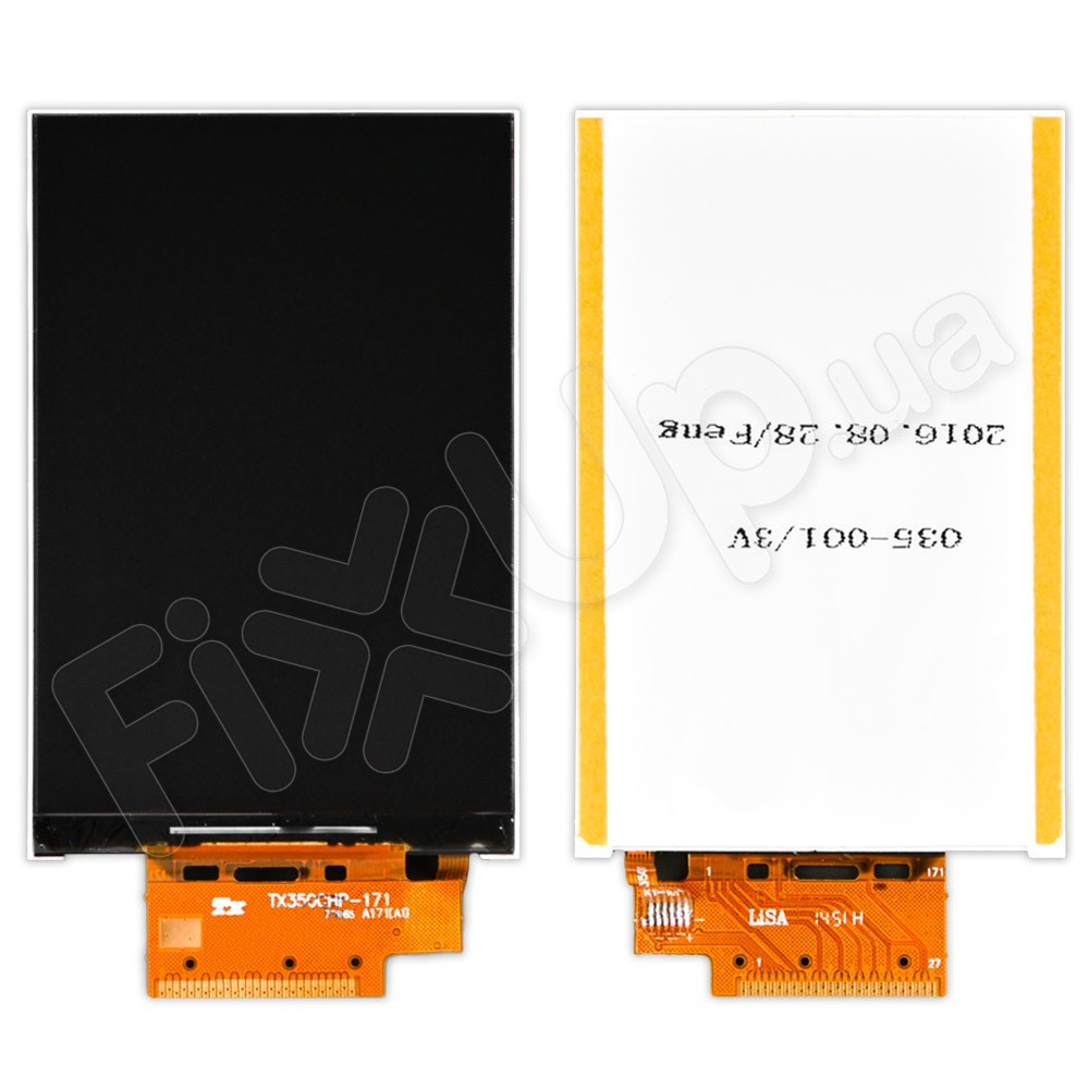 Дисплей для телефона Alcatel One Touch 4009D, копия высокого качества фото 1