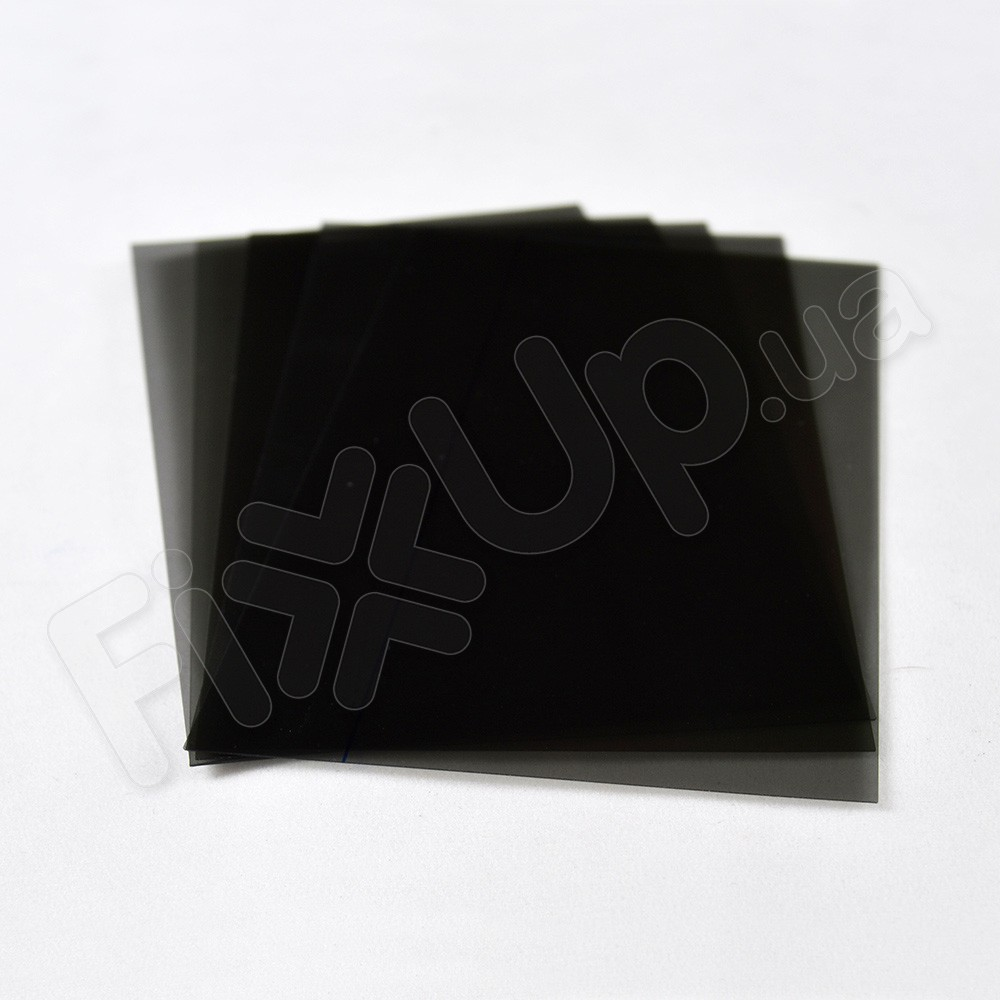 Поляризационная пленка для iPhone 6+ (5.5), 6S+ (5.5), 7+ (5.5) (0.4 мм) черная фото 1