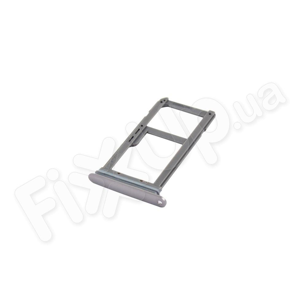 Лоток для сим карты Samsung G935F Galaxy S7 Edge, цвет серый фото 1