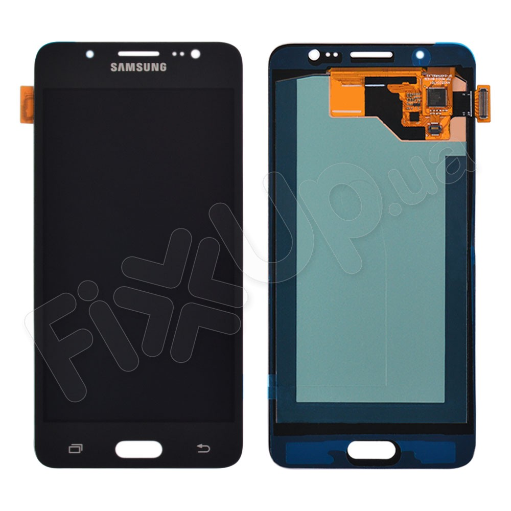 Дисплей для Samsung J510F/DS Galaxy J5 (2016) с тачскрином в сборе, цвет черный, OLED фото 1