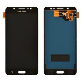 Дисплей Samsung Galaxy J5 J510F (2016) с тачскрином в сборе, без рамки,  цвет black, prc tft с регулировкой