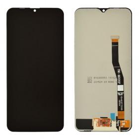 Дисплей для Samsung M205F /DS Galaxy M20 с тачскрином в сборе,  цвет черный, без рамки, tft с регулировкой яркости